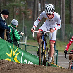 26-12-2019: Cycling: CX Worldcup: Heusden-Zolder: Worldcup leader Kevin Kuhn (SUI) ahead of Swiss national champion Louis Roullier