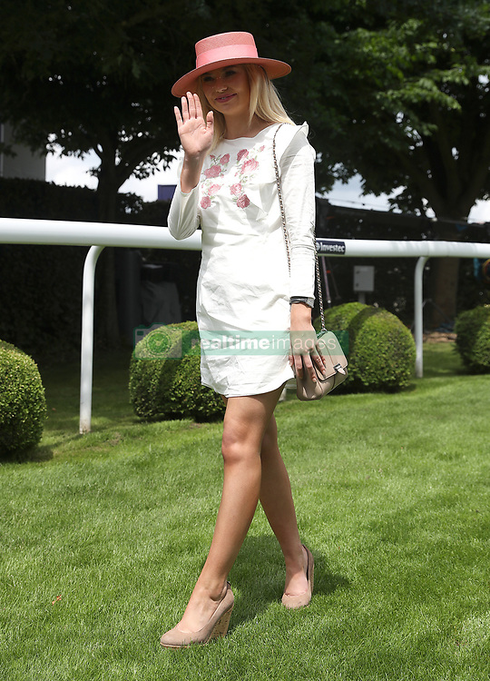 Georgia 'Toff' Toffolo during ladies day of the 2018 Investec Derby Festival at Epsom Downs Racecourse, Epsom. PRESS ASSOCIATION Photo. Picture date: Friday June 1, 2018. See PA story RACING Epsom. Photo credit should read: Steve Parsons/PA Wire. RESTRICTIONS: Editorial use only - any intended commercial use is subject to prior Epsom Downs Racecourse approval. No Private Sales.