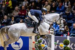 CARSTENSEN Tjade (GER), Fiesta van de Mullegracht<br /> Finale HGW-Bundesnachwuchschampionat der Springreiter <br /> gefördert durch die Horst-Gebers-Stiftung <br /> In Memoriam Debby Winkler<br /> Stilspringen Kl. M*<br /> Nat. style jumping competition Kl. M*<br /> Braunschweig - Classico 2020<br /> 08. März 2020<br /> © www.sportfotos-lafrentz.de/Stefan Lafrentz