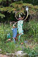 65821-00312 Garden Sculpture at North Carolina Botanical Garden, Chapel Hill, NC