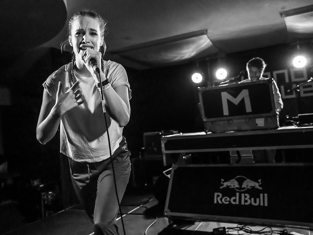 Melkorka Magnúsdóttir of Icelandic dance-pop project Milkywhale at Iceland Airwaves