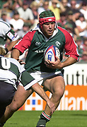 Leicester, 13th September 2003, Zurich Premiership Rugby,  Welford Road, <br /> [Mandatory Credit; Peter Spurrier/Intersport Images]<br /> Zurich Premiership Rugby - Leicester Tigers v London Irish.<br /> Tiger captain Josh Kronfeld