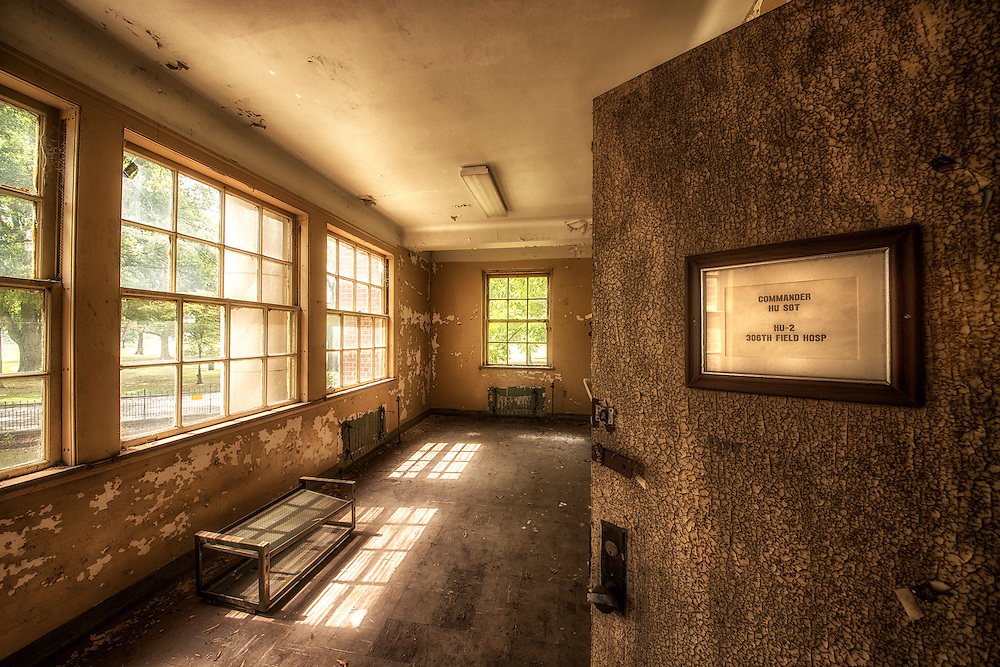The old Marine Hospital in the French Fort area of Memphis, TN.