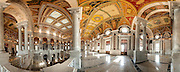 Great Hall in the Library of Congress in Washington DC