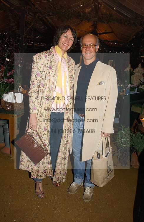 ROGER & MONTY SAUL he is head of the fashion house Mulberry at a party to celebrate the publication on 'A Year in My Kitchen' by Skye Gyngell held at The Petersham Nurseries, Petesham, Surrey on 19th October 2006.<br /><br />NON EXCLUSIVE - WORLD RIGHTS