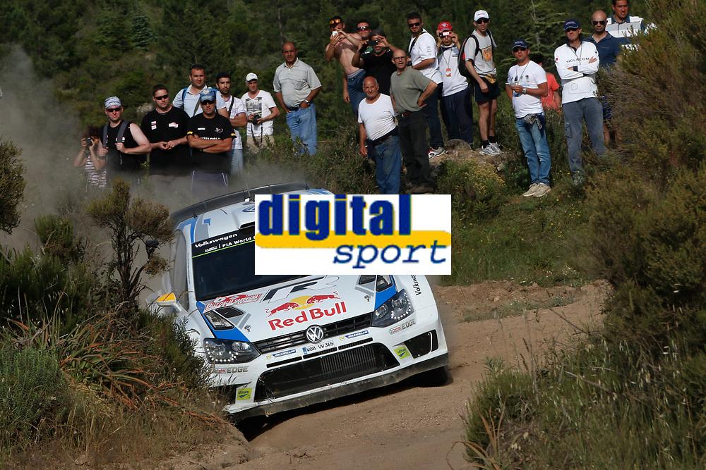 Andreas Mikkelsen (NOR) /Ola Floene (NOR)- Volkswagen Polo WRC