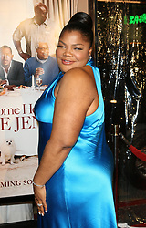 Mo'Nique arrives at the premiere of Welcome Home Roscoe Jenkins at the Grauman's Chinese Theatre, Los Angeles.