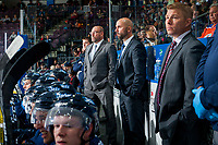 PENTICTON, CANADA - SEPTEMBER 9:  The Winnipeg Jets on September 9, 2017 at the South Okanagan Event Centre in Penticton, British Columbia, Canada.  (Photo by Marissa Baecker/Shoot the Breeze)  *** Local Caption ***