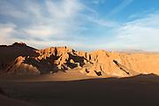 Sunset over Death Valley, Atacama Desert, Chile, South America