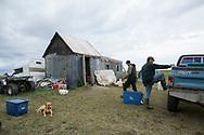Familjen Greens fiskestuga utanför Nome. <br /> <br /> Alaska, USA<br /> <br /> Fotograf: Christina Sjögren<br /> <br /> Photographer: Christina Sjogren<br /> Copyright 2018, All Rights Reserved