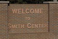 11/7/07 Smith Center, KS.Sign as you enter Smith Center, KS...(Chris Machian/Prairie Pixel Group)