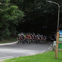 29-08-2018: Wielrennen: Ladies Tour: Nijmegen<br />Peloton op een beklimming