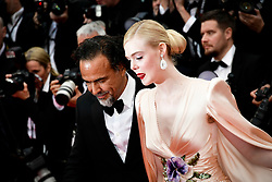 """The Dead Don't Die"" & Opening Ceremony Red Carpet - The 72nd Annual Cannes Film Festival. 14 May 2019 Pictured: President of the Main competition jury Alejandro Gonzalez Inarritu and jury Member Elle Fanning, wearing Chopard jewels. Photo credit: Daniele Cifalà / MEGA TheMegaAgency.com +1 888 505 6342"