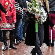 NLD/Amstelveen/20120917 - Uitvaart Rosemarie Smid - Giesen van der Sluis, Joke de Kruijff