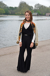 JULIET ANGUS at a party to launch the Taylor Morris Explorer Collection held at the Serpentine Lido, Hyde Park, London on 11th May 2016.