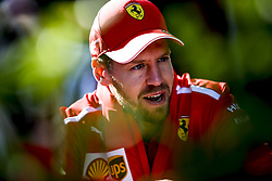 March 14, 2019 - Melbourne, Australia - Motorsports: FIA Formula One World Championship 2019, Grand Prix of Australia, ..#5 Sebastian Vettel (GER, Scuderia Ferrari Mission Winnow) (Credit Image: © Hoch Zwei via ZUMA Wire)