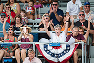 Goshen, New York - People enjoy the 36th annual Great American Weekend festival sponsored by the Goshen Chamber of Commerce on July 1, 2017.
