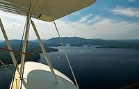 Aerial view of Lake Sunapee, New Hampshire