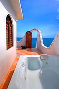 Bathroom and sea villas -  Jakes Hotel - Treasure Beach Jamaica