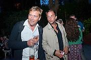 DAN LYWOOD; JOHN LYCETT-GREEN, Launch of the Portobello film festival. Tabernacle. Powis Sq. London. 20 August 2009.