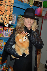 LONDON, ENGLAND 1 DECEMBER 2016: Tara Agace at the 10th birthday party for the toy shop HoneyJam, 2 Blenheim Crescent, Notting Hill, London, England. 1 December 2016.