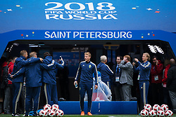 July 2, 2018 - St Petersburg, RUSSIA - 180702 Oscar Hiljemark of the Swedish national football team at a practice session during the FIFA World Cup on July 2, 2018 in St Petersburg..Photo: Joel Marklund / BILDBYRN / kod JM / 87743 (Credit Image: © Joel Marklund/Bildbyran via ZUMA Press)