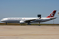 DURBAN - 5 November 2015 - The first Turkish Airlines Airbus A330-300 to arrives at Durban's King Shaka International Airport. The airline launched its service between Durban and Istanbul, which will see it operate four times a week between Durban and Istanbul via Johannesburg. Picture: Allied Picture Press/APP