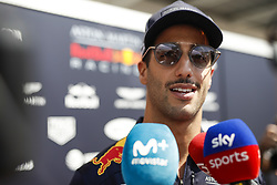 October 25, 2018 - Mexico-City, Mexico - Motorsports: FIA Formula One World Championship 2018, Grand Prix of Mexico, ..#3 Daniel Ricciardo (AUS, Aston Martin Red Bull Racing) (Credit Image: © Hoch Zwei via ZUMA Wire)