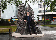 Statue lands in Leicester Square to celebrate tenth anniversary of Game of Thrones