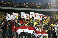 Fotball<br /> Foto: Dppi/Digitalsport<br /> NORWAY ONLY<br /> <br /> AFRICAN CUP OF NATIONS 2006 - FIRST ROUND - GROUP A - EGYPT v LIBYA<br /> <br /> EGYTIAN FANS IN CAIRO STADIUM