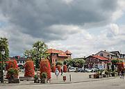 Kartuzy (woj. pomorskie), 2015-07-14. Kartuski Rynek, główny plac w Kartuzach