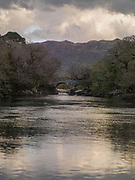 The Old Weir Bridge, at the Meeting of the Waters in Killarney in County Kerry, Ireland.<br /> Picture by Don MacMonagle