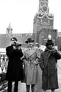 Brinsley Ford, David Byrne, The Edge U2 in Red Square - Greenpeace 1989