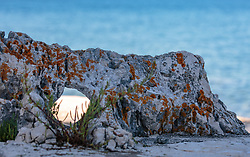 THEMENBILD - ein kleiner Felsen mit einem Loch, aufgenommen am 26. Juni 2018 in Porec, Kroatien // a small rock with a hole, Porec, Croatia on 2018/06/26. EXPA Pictures © 2018, PhotoCredit: EXPA/ Stefanie Oberhauser