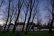 The Beguinage in Bruges, Belgium.