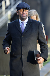 © Licensed to London News Pictures. 30/01/2019. London, UK. Chairman of the Conservative Party JAMES CLEVERLY on College Green after giving media interviews. Theresa May has said she will return to Brussels to seek further concessions from the EU. Photo credit: Rob Pinney/LNP