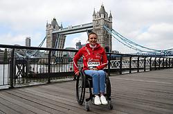 Manuela Schar during the photocall outside Tower Bridge, London.
