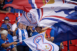 June 28, 2019 - Paris, France - Supporters of France during the 2019 FIFA Women's World Cup France Quarter Final match between France and USA at Parc des Princes on June 28, 2019 in Paris, France. (Credit Image: © Jose Breton/NurPhoto via ZUMA Press)