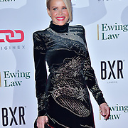 Melinda Messenger arrive at Float Like A Butterfly Ball for Caudwell Children Charity at Grosvenor House Hotel on 16 November 2019, London, UK.