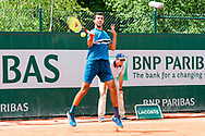 rayane Roumane (fra) during the Roland Garros French Tennis Open 2018, day 8, on June 3, 2018, at the Roland Garros Stadium in Paris, France - Photo Pierre Charlier / ProSportsImages / DPPI