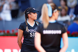 May 12, 2019 - Madrid, MADRID, SPAIN - Ball girls during the Mutua Madrid Open 2019, Final round, (ATP Masters 1000 and WTA Premier) tenis tournament at Caja Magica in Madrid, Spain, on May 12, 2019. (Credit Image: © AFP7 via ZUMA Wire)