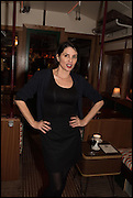 SADIE FROST, Cahoots club launch party, 13 Kingly Court, London, W1B 5PW  26 February 2015
