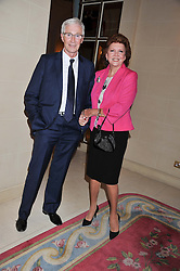 PAUL O'GRADY and CILLA BLACK at Ambassador Earle Mack's 60's reunion party held at The Ritz Hotel, London on 18th June 2012.