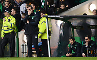 26/11/15 UEFA EUROPA LEAGUE GROUP STAGE<br /> CELTIC v AJAX<br /> CELTIC PARK - GLASGOW<br /> Celtic manager Ronny Deila