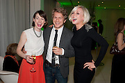 JESSICA LLOYD; GEORGE RAINSFORD; HELEN GEORGE, English National Ballet Beyond Ballets Russes at the London Coliseum opening night party at the St Martins Lane Hote, Londonl . 22 March 2012.