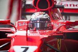 November 10, 2017 - Sao Paulo, Sao Paulo, Brazil - 7 KIMI RAIKKONEN (FIN) of Scuderia Ferrari, during the free training day for the Formula One Grand Prix of Brazil at Interlagos circuit, in Sao Paulo, Brazil. The grand prix will be celebrated next Sunday, November 12. (Credit Image: © Paulo Lopes via ZUMA Wire)