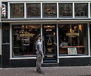 Amsterdam, trendy barbershop