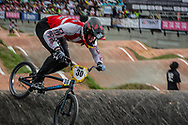 #30 (LAUSTSEN Niklas) DEN at the 2016 UCI BMX World Championships in Medellin, Colombia.