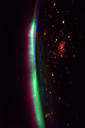 Apr 4, 2017 - Space - Expedition 50 Flight Engineer Thomas Pesquet of the European Space Agency (ESA) photographed brightly glowing auroras from his vantage point aboard the International Space Station on March 27, 2017. Pesquet wrote, 'The view at night recently has been simply magnificent: few clouds, intense auroras. I can't look away from the windows.' The dancing lights of the aurora provide stunning views, but also capture the imagination of scientists who study incoming energy and particles from the sun. Aurora are one effect of such energetic particles, which can speed out from the sun both in a steady stream called the solar wind and due to giant eruptions known as coronal mass ejections or CMEs. (Credit Image: ? ESA/NASA/ZUMAPRESS.com)