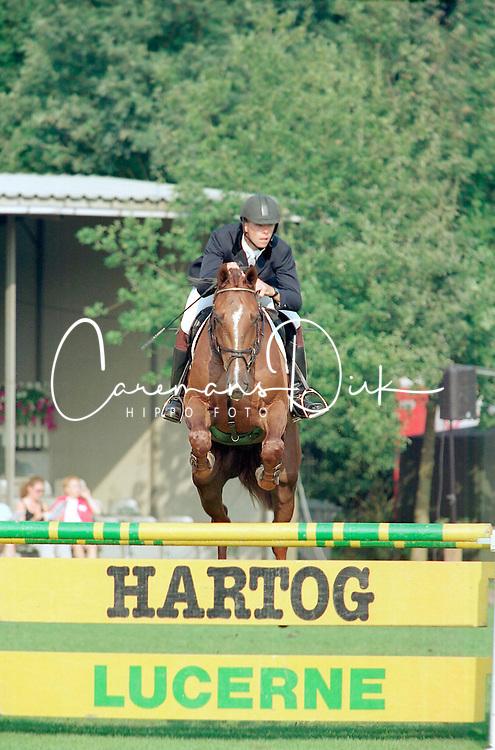 Steeghs Luc-Milano<br />KWPN Paardendagen 2001<br />Photo © Dirk Caremans